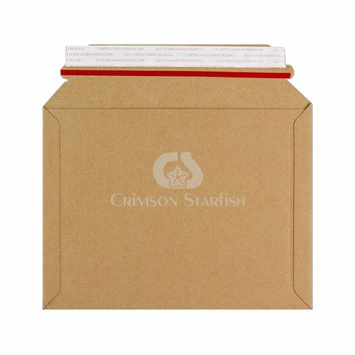 100x Rigid Cardboard Envelopes - 180mm x 235mm