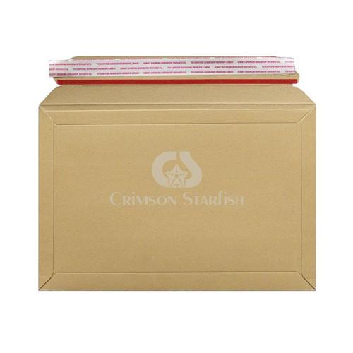 100x Rigid Cardboard Envelopes - 194mm x 292mm