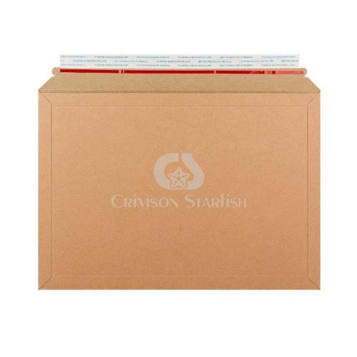 100x Rigid Cardboard Envelopes - 249mm x 352mm