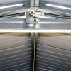 Duramax Imperial Metal Garage Dark Gray with White Trim 12x26