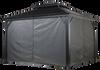 Sojag Curtains for Monaco/Messina/Mykonos/Moreno 10 x 14 ft Grey - Gazebo Not Included