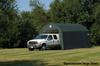 ShelterCoat Garage 12 x 24 x 9 ft. Barn Standard Green