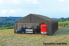ShelterCoat Garage 28 x 24 x 16 ft. Peak Standard Grey