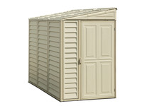 Duramax 4x8 SideMate Shed with Foundation