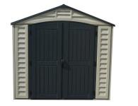 Duramax 15 x 8 Apex Pro w/fndtn, 2 windows & side door