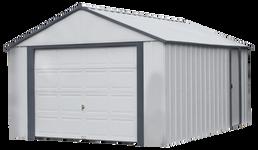 Arrow Murryhill 12 x 17 Garage, Steel Storage Building,  Prefab Storage Shed