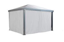 Sojag Monteserra curtains 10x12 - Silver white
