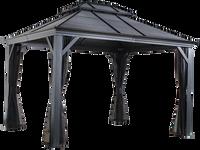 Sojag Mykonos Double Roof Gazebo 12 x 14 ft