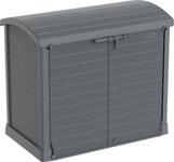 Duramax Storeaway Arc Lid 1200L Gray