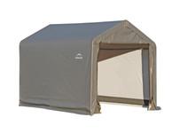 ShelterLogic Shed-in-a-Box 6 x 6x 6 ft Peak Grey