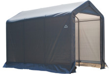 ShelterLogic Shed-in-a-Box 6 x 10 x 6 ft. 6 in. Peak Gray