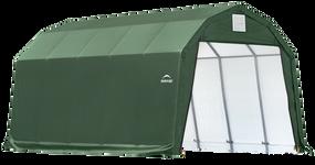 ShelterCoat 12 x 28 ft. Garage Barn Green STD