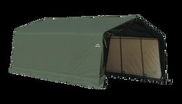 ShelterCoat 13 x 20 ft. Garage Peak Green STD