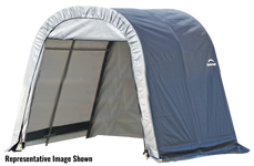 ShelterCoat 11 x 16 ft. Wind and Snow Rated Garage Round Gray STD