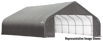 ShelterCoat Garage 28 x 28 x 20 ft. Peak Standard Grey