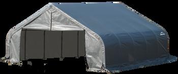 ShelterCoat Garage 18 x 20 x 11 ft. Peak Standard Grey