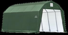 ShelterCoat Garage 12 x 28 x 9 ft. Barn Standard Green