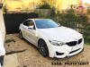 BMW M4 CS style front bumper splitter