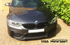 BMW M3 CS style front bumper splitter
