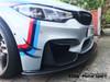 DTM Inspired Genuine Carbon Fibre Front Bumper Canards - 4 Pieces/Set