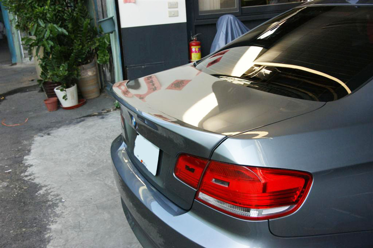 Painted Bmw E92 E92 M3 Coupe Csl Look Boot Lip Spoiler