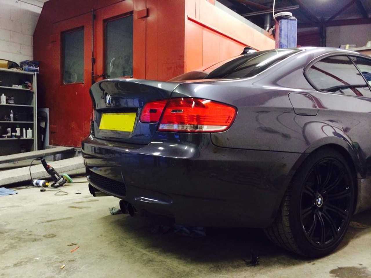 Bmw E92 Coupe Csl Inspired Replacement Bootlid Frp Plastic