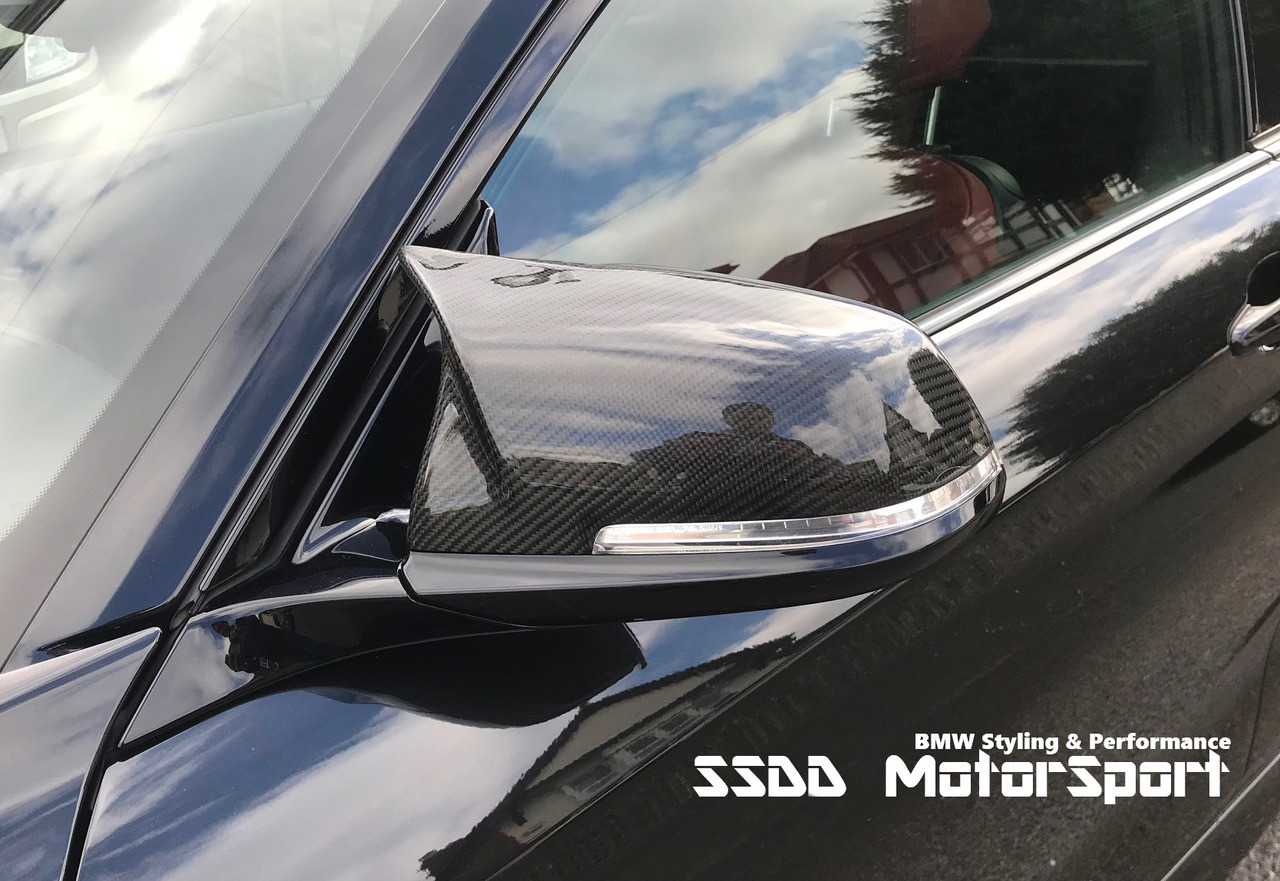 b4b57b430e7d Carbon Fibre M Look Replacement Mirror Covers For F20 F21 F22 F23 F30 F31  F32 F33