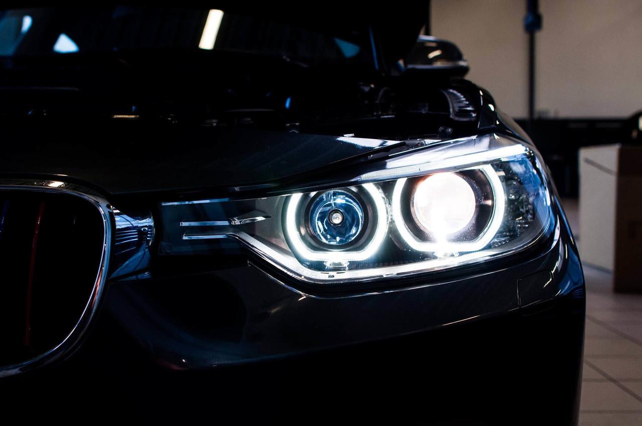 Depo Lhd Bmw F30 F31 Xenon Projector Look Angel Eyes Headlight