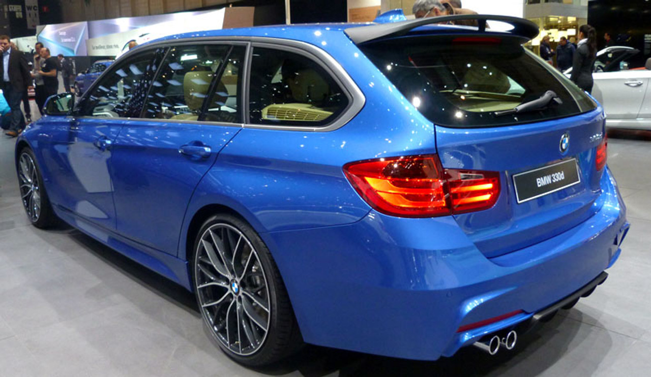 Brand New Genuine BMW F31 3 Series Touring M Performance Rear Roof Spoiler