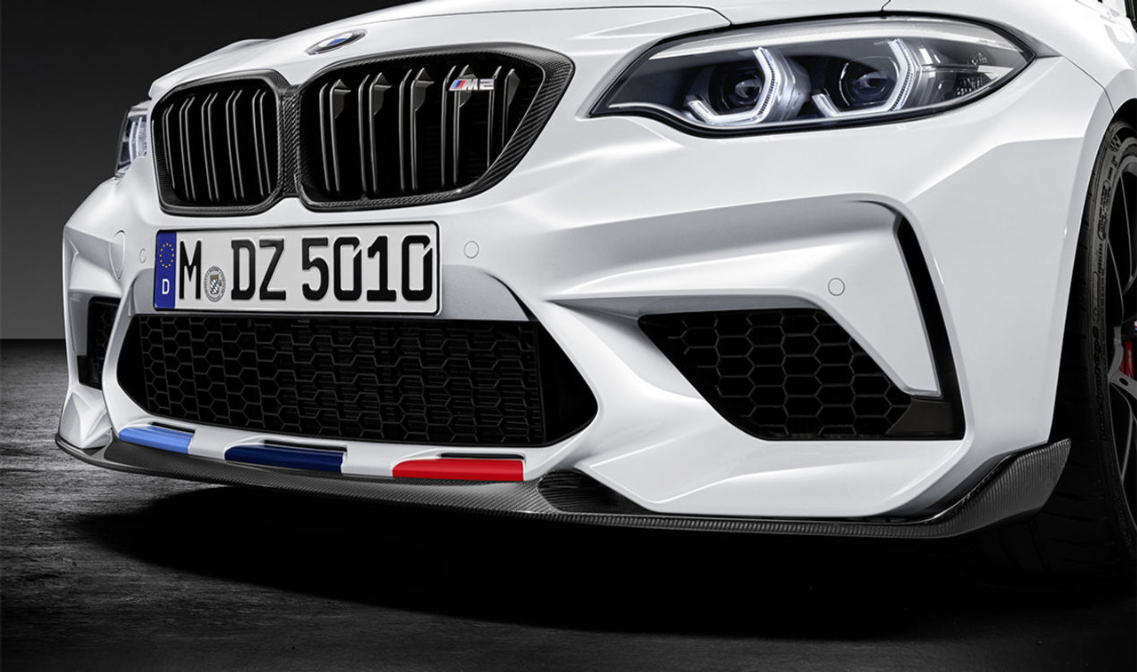 6c043e506d0 Genuine BMW M Performance Carbon Front Splitter for F87 M2 Competition -  51192449476
