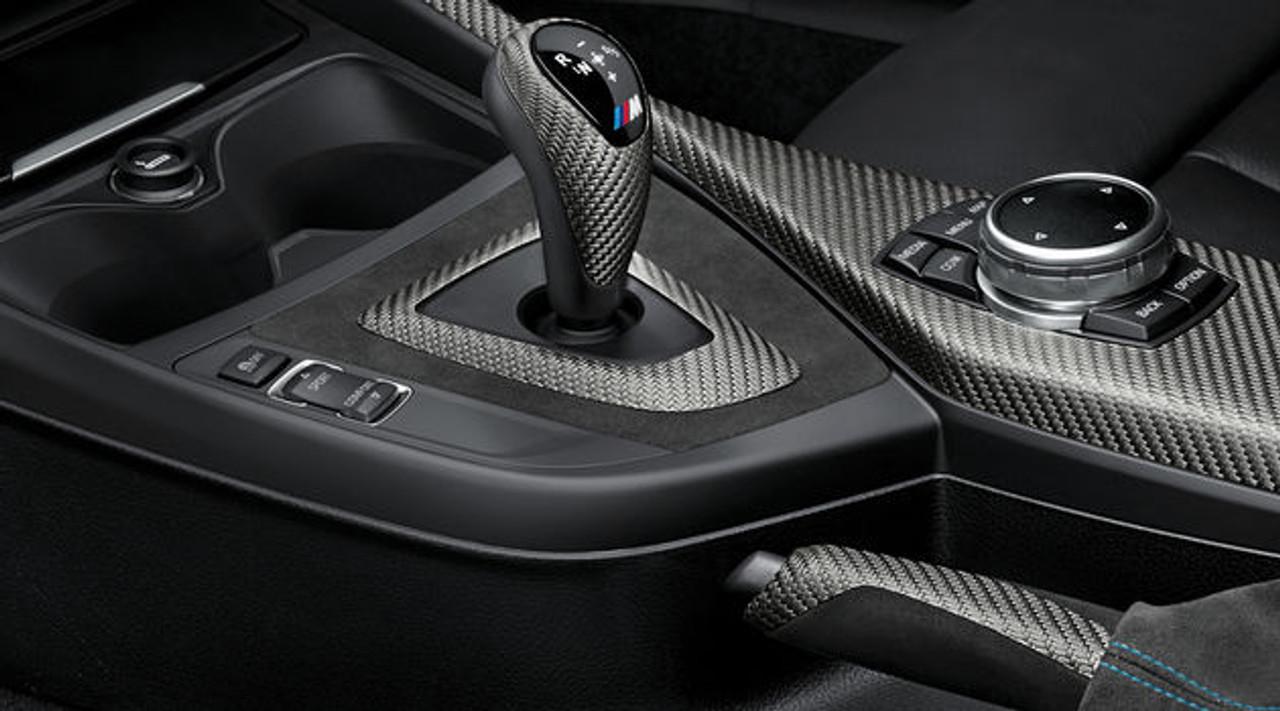 NEW GENUINE BMW 3 SERIES E90 E91 E92 LCI PERFORMANCE HANDBRAKE GRIP ALCANTARA