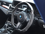 Installation of our new custom carbon LED steering wheel on BMW F Series