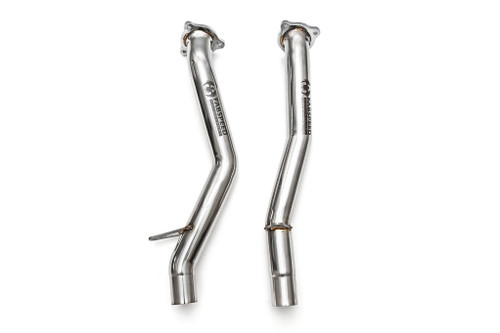 Fabspeed Porsche 958 S/GTS Secondary Cat Bypass Pipes