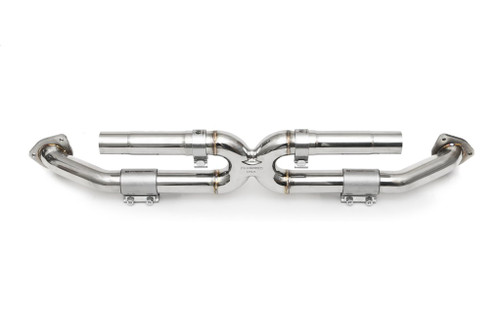 Fabspeed Porsche 991 Carrera Center Muffler Bypass X-Pipe