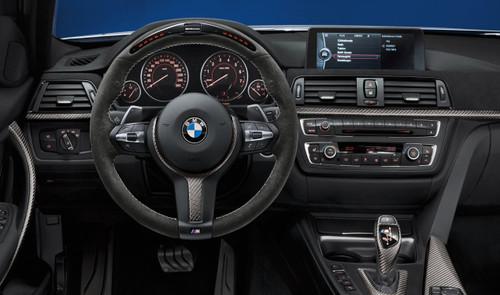 Genuine BMW F20 F22 F30 F32 F36 M Performance Alcantara Carbon Steering Wheel with Race Display