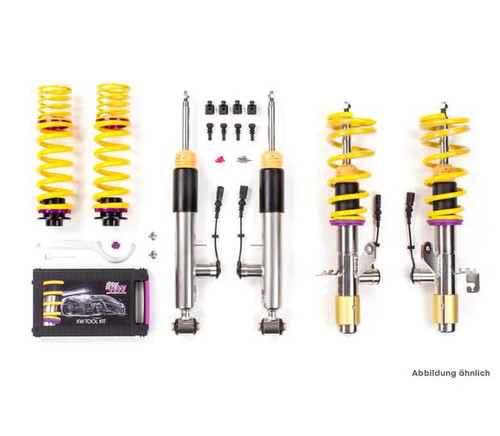 KW BMW F20 F22 F30 F32 DDC Plug & Play Coilover for Adaptive Suspension (inc. M135i, M140i, M235i, M240i, 335i, 340i, 435i & 440i)