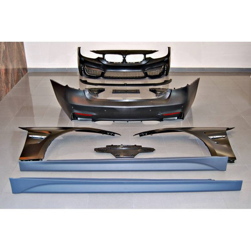 BMW F30 M3 Look Body Kit - Bumper, Wings, Side Skirts, & Trims