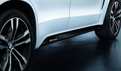 Genuine BMW F15 X5 M Performance Side Skirt Decals Set (51142348319)