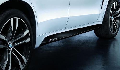 Genuine BMW F15 X5 M Performance Side Skirt Decals Set (51142348319)