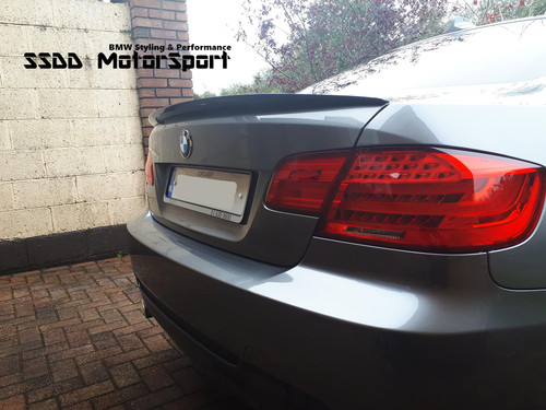 E92 Coupe Performance V2 Carbon Fibre Boot Spoiler