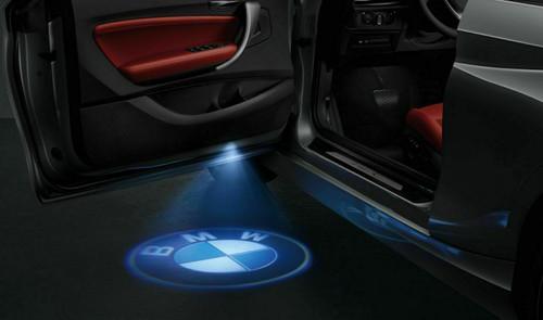 GENUINE BMW LED Door Projectors Entry Lights 63312414105