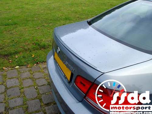 Painted E92 M3 Style Boot Lip Spoiler For E92 3 Series with Free Fitting Tape