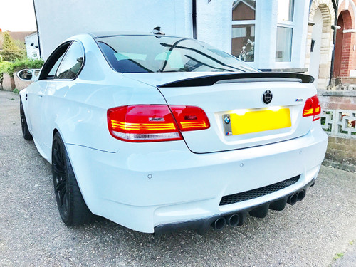 BMW E92 Coupe Performance High Kick Boot Lip Spoiler