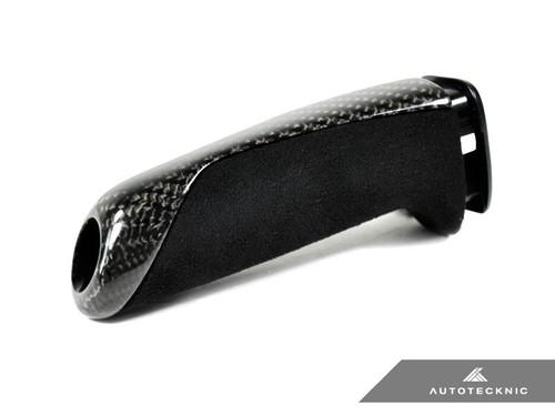 AUTOTECKNIC BMW F Chassis Carbon Alcantara Handbrake Sleeve