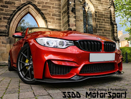 F80 M3 F82 F83 M4 PSM style front splitter