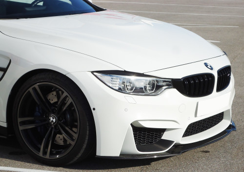 RIEGER BMW F80 M3 F82 F83 M4 Front Bumper Splitter