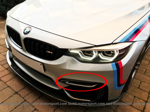 BMW F8X M3 M4 Competition Bumper Trims