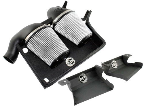 aFe BMW N54 Magnum FORCE Stage-2 Pro DRY S Cold Air Intake with Scoop E90 E92 335i