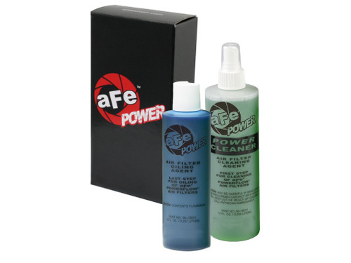 aFe Air Filter Restore Kit (8 oz Blue Oil & 12 oz Power Cleaner)