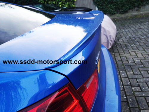 F30 F80 M3 M Performance Style Painted ABS Rear boot Spoiler